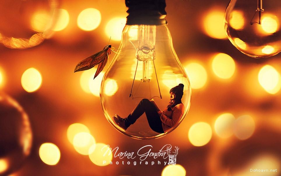 Bộ ảnh thực hiện bằng photoshop đẹp của Marina Gondra