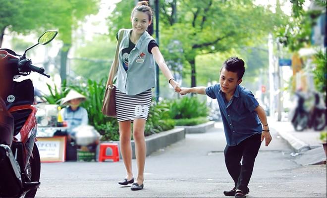 Tình yêu đẹp của đôi đũa lệch chàng 1m26 và người mẫu 1m75