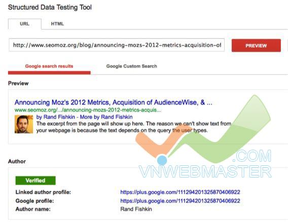Cách hiện lại Author markup trên Google SERP - Bài học từ Moz