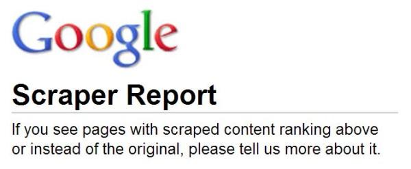 """Google đã công bố """"mẫu báo cáo"""" nội dung sao chép"""