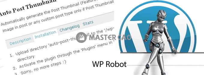 Hướng dẫn lấy tin tự động RSS cho Wordpress bằng WP Robot