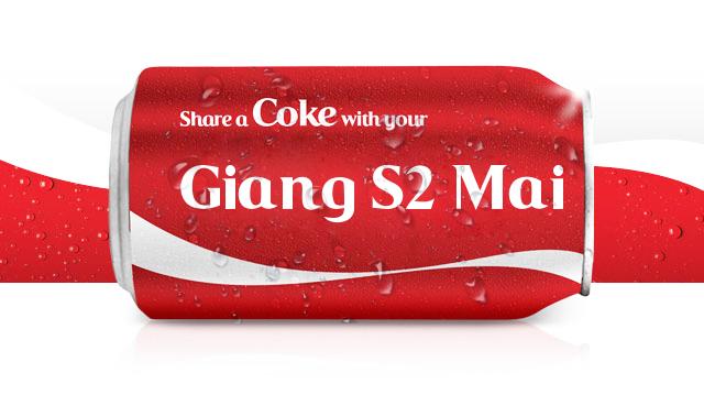 Code khắc tên lên lon Coca bằng php