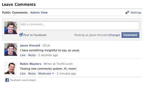 Tích hợp bình luận Facebook vào blogspot