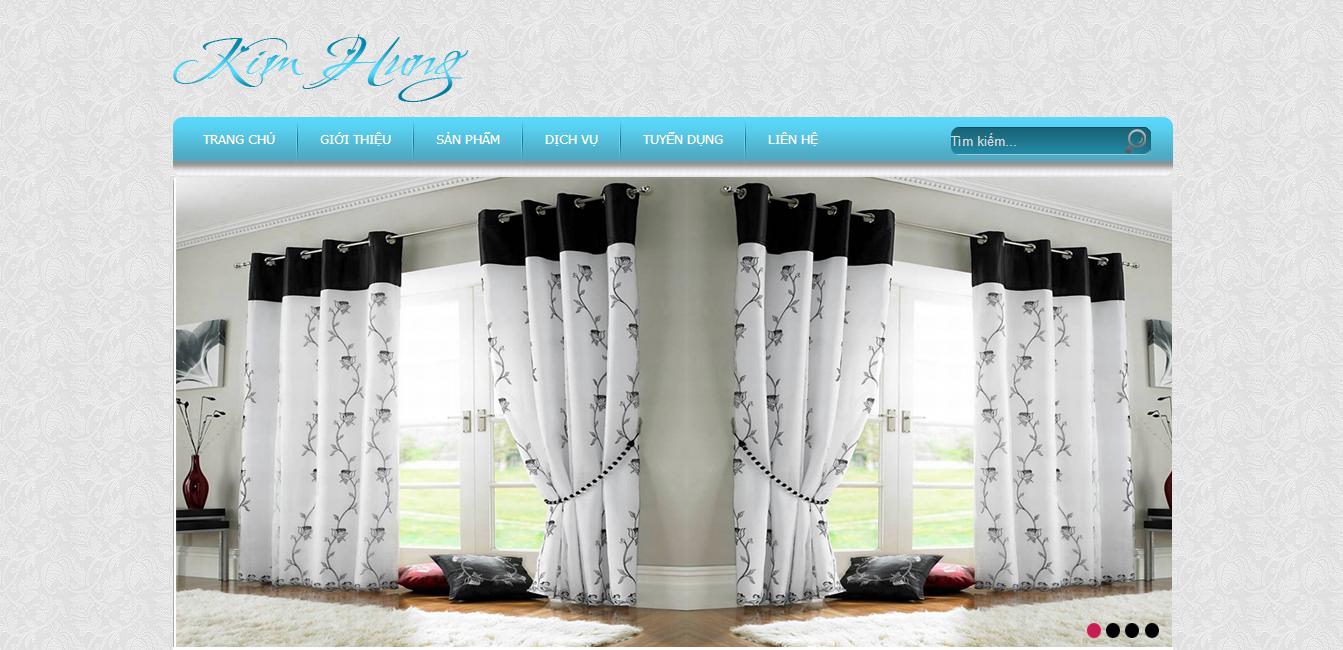 Website bán rèm đẹp