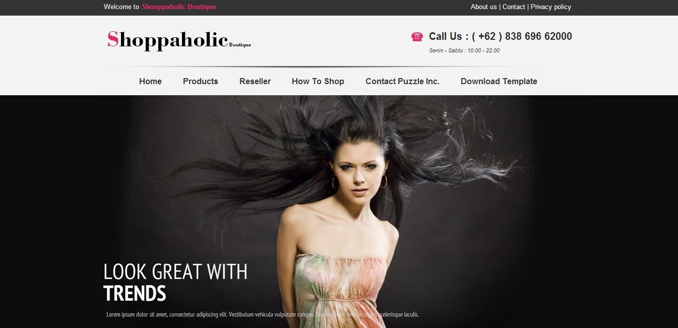 Giao diện Blogspot bán hàng online cực đẹp