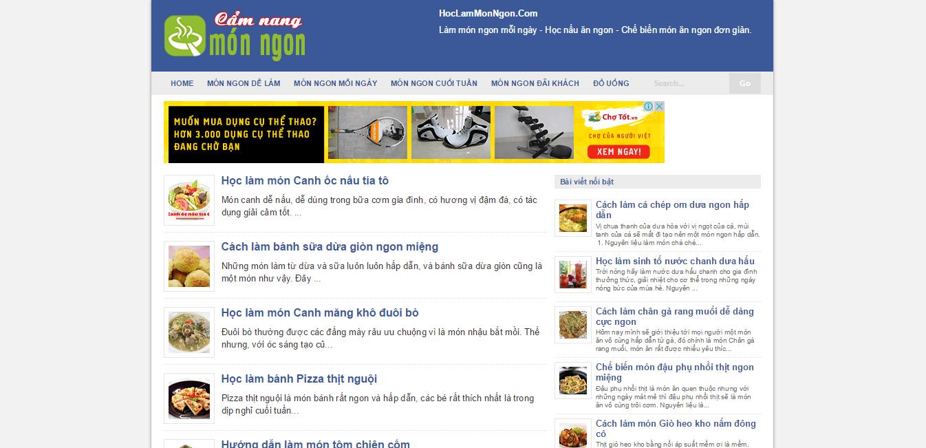 Template Blogspot tin tức đẹp - Responsive chuẩn Seo